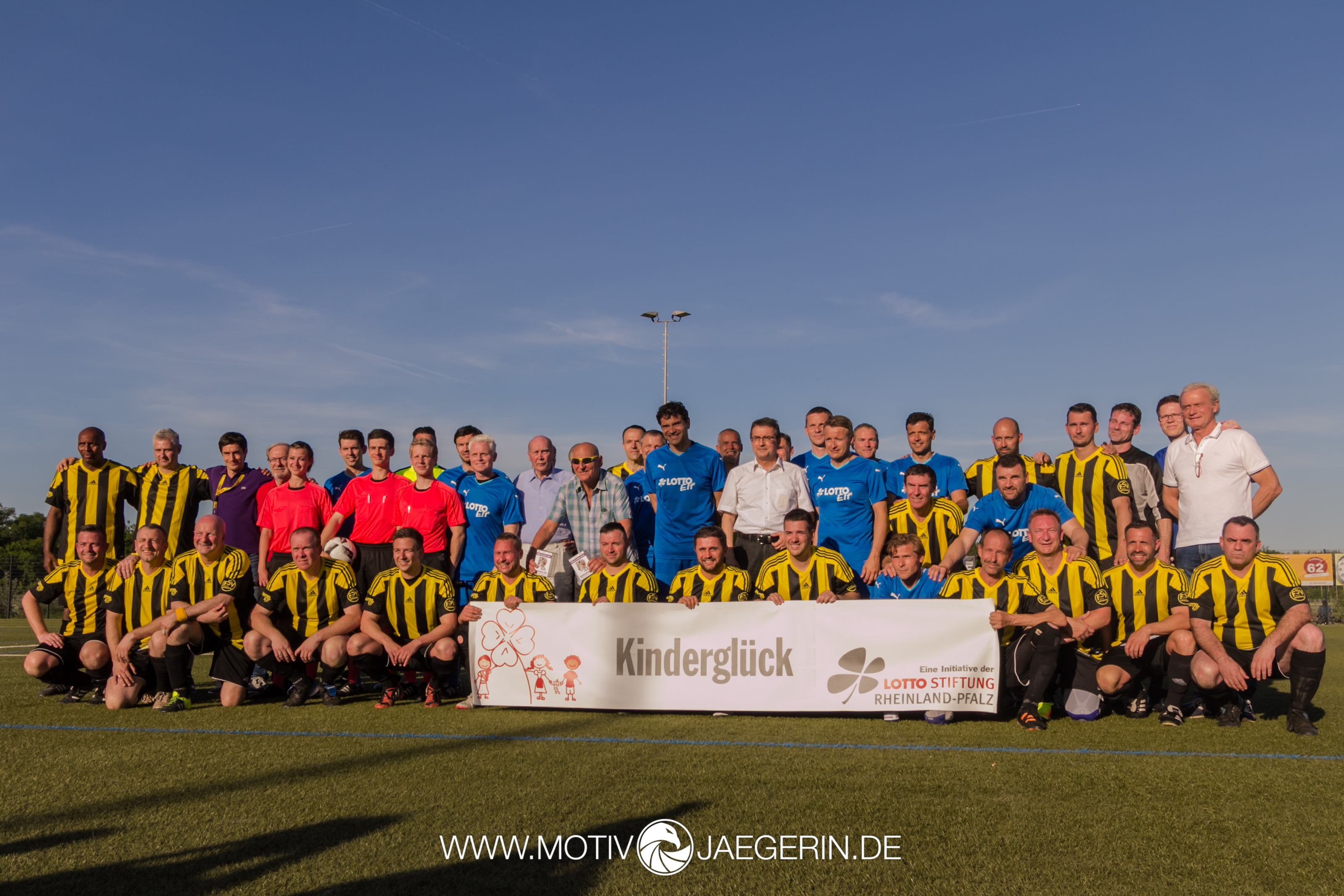 Eventfotografie beim Benefizspiel des FSV Oppenheim vs. LottoElf in Oppenheim