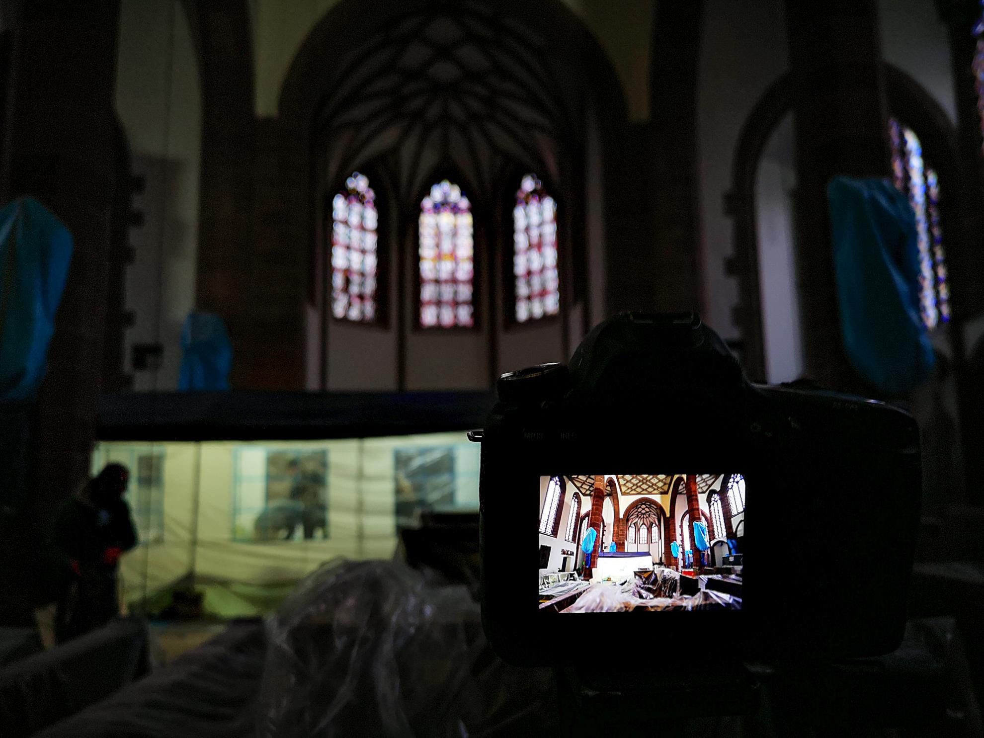 Fotoreportage |  Liebfrauenkirche Frankfurt am Main